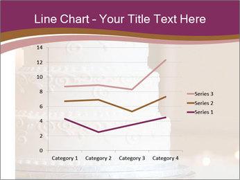 A multi level white wedding cake PowerPoint Template - Slide 54