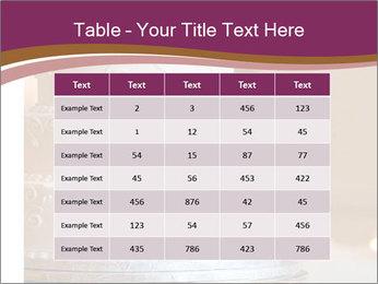 A multi level white wedding cake PowerPoint Template - Slide 55