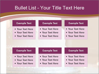 A multi level white wedding cake PowerPoint Template - Slide 56