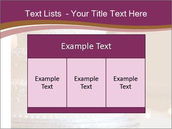 A multi level white wedding cake PowerPoint Template - Slide 59