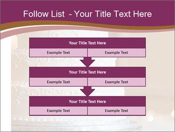 A multi level white wedding cake PowerPoint Template - Slide 60