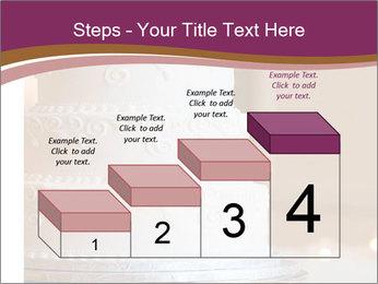 A multi level white wedding cake PowerPoint Template - Slide 64