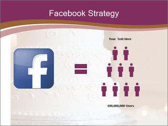 A multi level white wedding cake PowerPoint Template - Slide 7