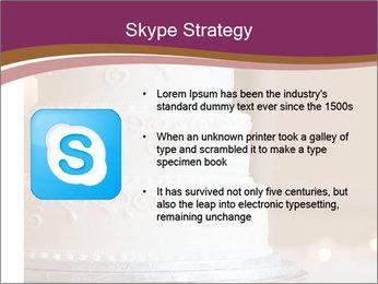 A multi level white wedding cake PowerPoint Template - Slide 8