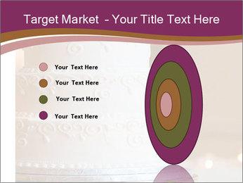 A multi level white wedding cake PowerPoint Template - Slide 84