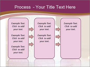 A multi level white wedding cake PowerPoint Template - Slide 86