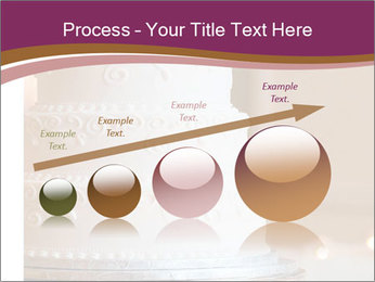 A multi level white wedding cake PowerPoint Template - Slide 87