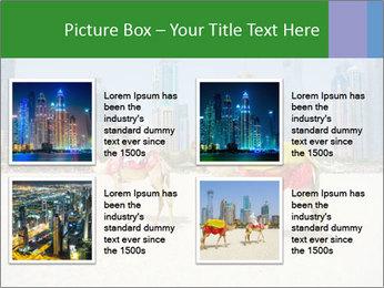 Dubai Camel PowerPoint Template - Slide 14