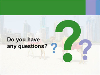 Dubai Camel PowerPoint Template - Slide 96