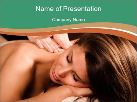 Woman enjoy PowerPoint Templates