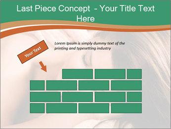 Woman enjoy PowerPoint Templates - Slide 46