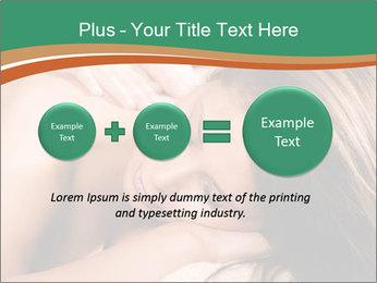 Woman enjoy PowerPoint Templates - Slide 75