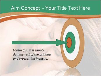 Woman enjoy PowerPoint Templates - Slide 83