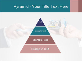 Holding smart phone PowerPoint Template - Slide 30