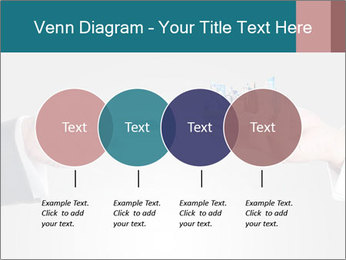 Holding smart phone PowerPoint Template - Slide 32