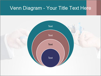 Holding smart phone PowerPoint Template - Slide 34