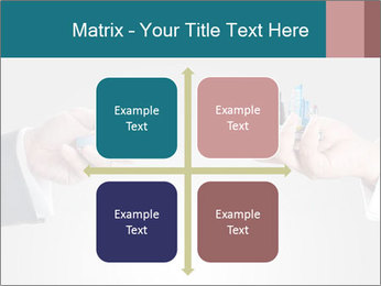 Holding smart phone PowerPoint Template - Slide 37