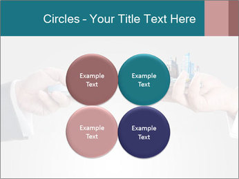 Holding smart phone PowerPoint Template - Slide 38