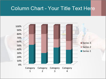 Holding smart phone PowerPoint Template - Slide 50