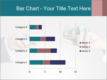 Holding smart phone PowerPoint Template - Slide 52