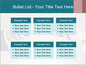 Holding smart phone PowerPoint Template - Slide 56