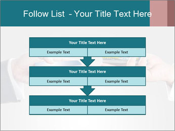 Holding smart phone PowerPoint Template - Slide 60