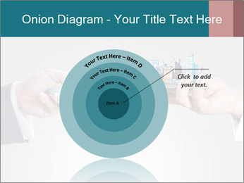 Holding smart phone PowerPoint Template - Slide 61