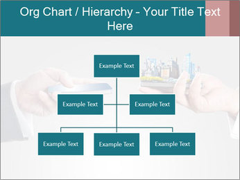 Holding smart phone PowerPoint Template - Slide 66