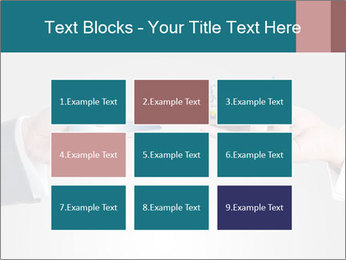 Holding smart phone PowerPoint Template - Slide 68
