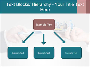 Holding smart phone PowerPoint Template - Slide 69