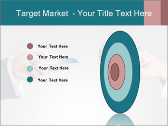 Holding smart phone PowerPoint Template - Slide 84