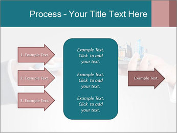 Holding smart phone PowerPoint Template - Slide 85