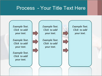 Holding smart phone PowerPoint Template - Slide 86