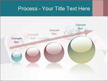 Holding smart phone PowerPoint Template - Slide 87
