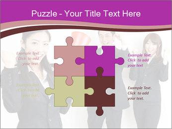 Asian business team PowerPoint Templates - Slide 43