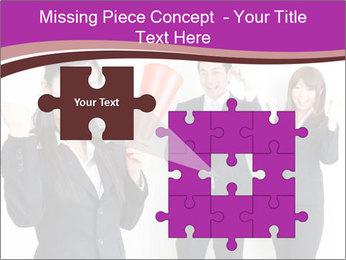 Asian business team PowerPoint Templates - Slide 45