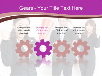 Asian business team PowerPoint Templates - Slide 48