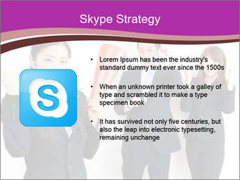Asian business team PowerPoint Templates - Slide 8
