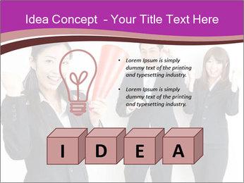 Asian business team PowerPoint Templates - Slide 80