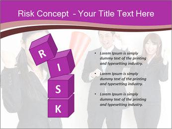 Asian business team PowerPoint Templates - Slide 81