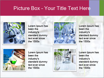 Green plants PowerPoint Template - Slide 14