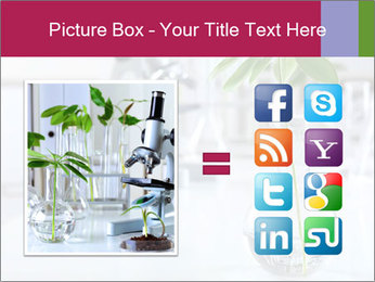 Green plants PowerPoint Template - Slide 21