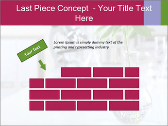 Green plants PowerPoint Template - Slide 46