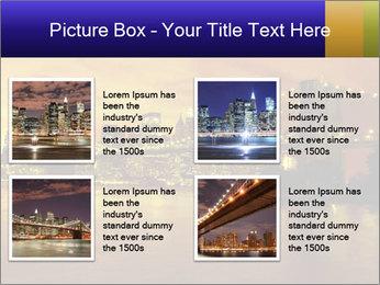 Brooklyn Bridge PowerPoint Templates - Slide 14