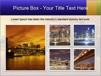 Brooklyn Bridge PowerPoint Templates - Slide 19