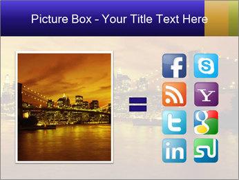 Brooklyn Bridge PowerPoint Templates - Slide 21