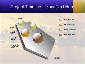 Brooklyn Bridge PowerPoint Templates - Slide 26
