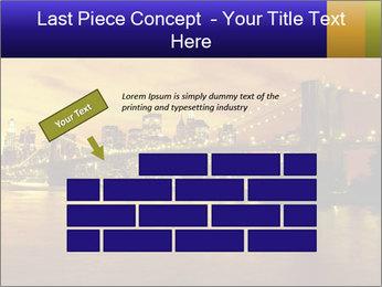 Brooklyn Bridge PowerPoint Templates - Slide 46