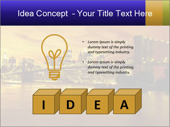 Brooklyn Bridge PowerPoint Templates - Slide 80