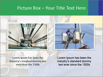 One electrician at work PowerPoint Template - Slide 18